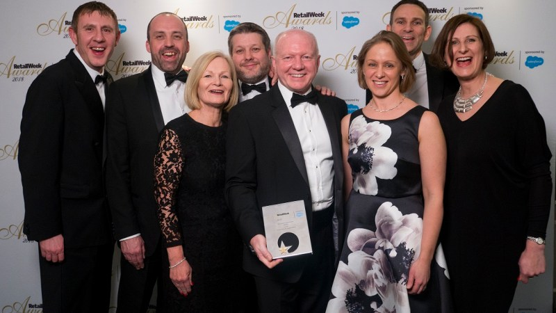 Screwfix awarded best retailer over £250m and digital pioneer