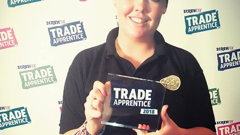 Coventry apprentice highly commended in Screwfix national competition