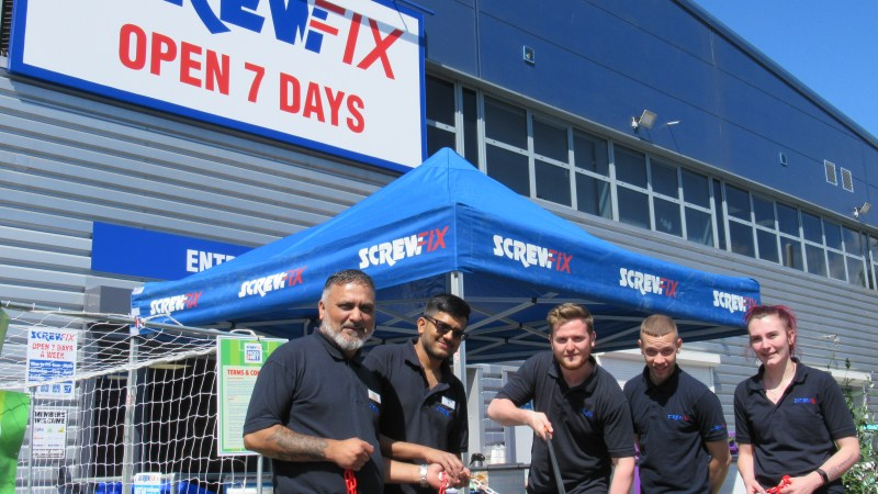 Ruislip new Screwfix store opening is declared a huge success
