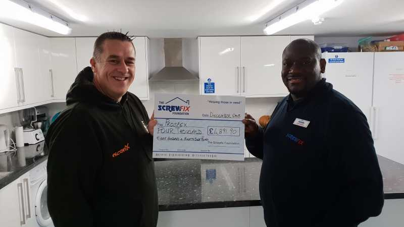 The Screwfix Foundation supports Prospex in Islington