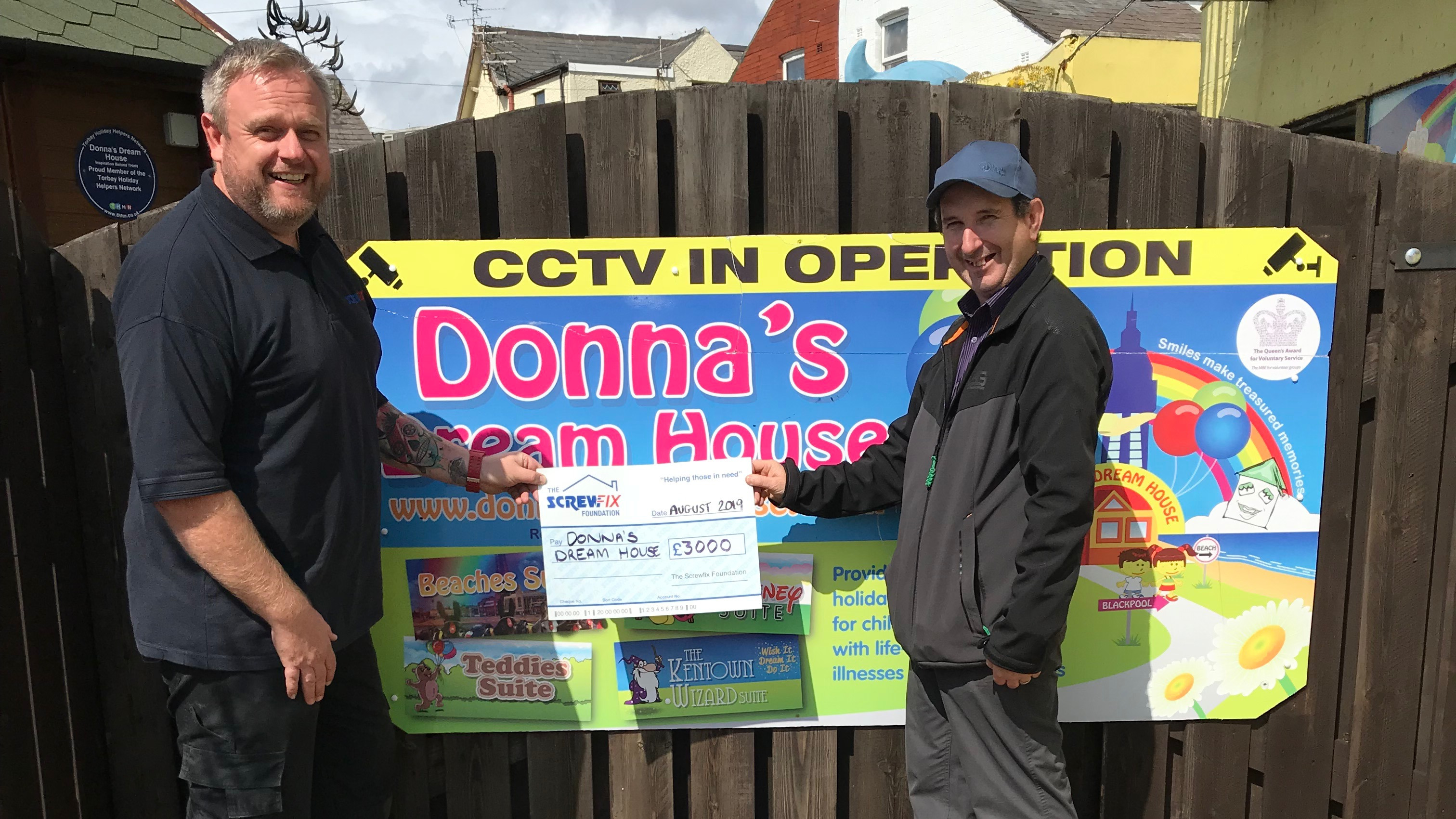 Donna's Dream House gets a helping hand from The Screwfix Foundation