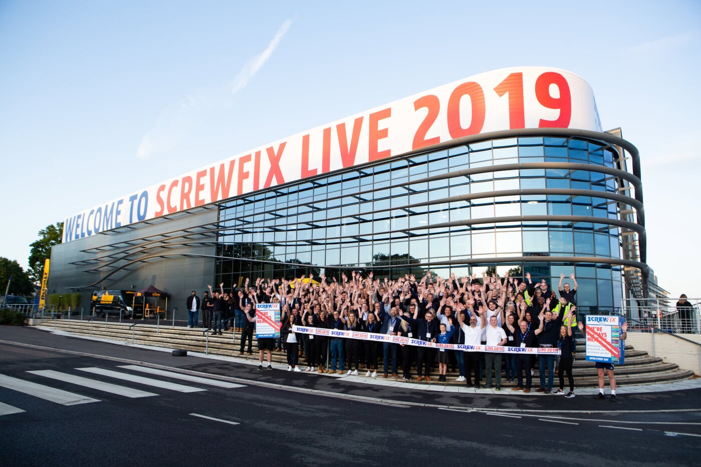 Screwfix LIVE is open for business!