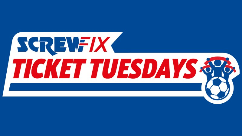 Win tickets every week with Screwfix!