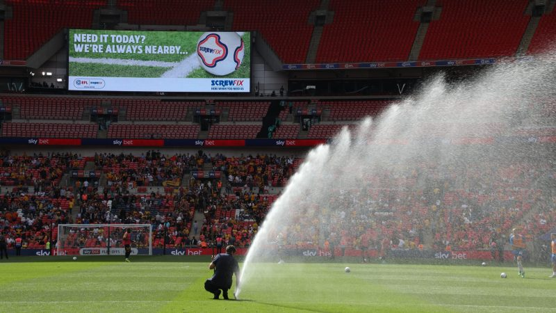 Screwfix and EFL team up for Wembley Weekend