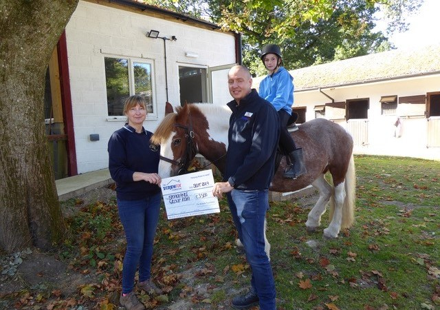 The Screwfix Foundation supports Broadlands Group Riding for the Disabled