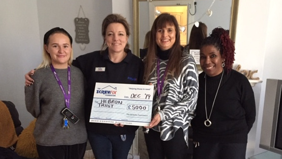 The Screwfix Foundation supports Hebron Trust in Norwich