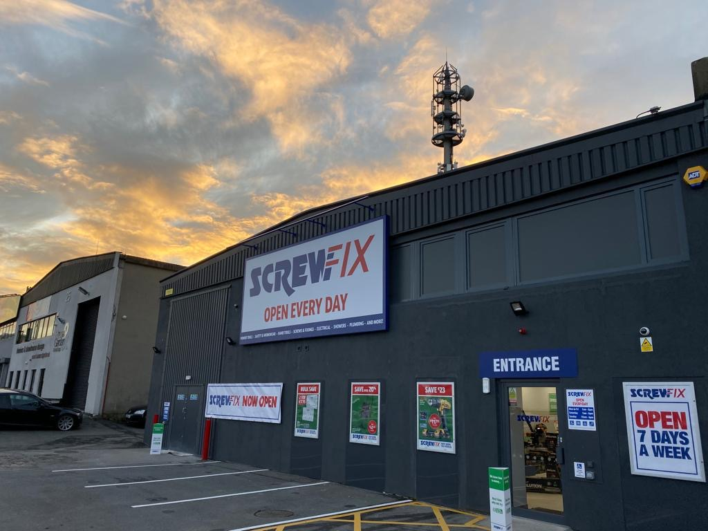 Screwfix Announce Roll Out of Stores Across Ireland