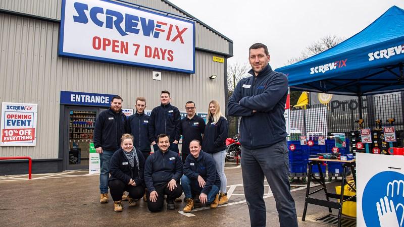Screwfix opens its doors in Bromley