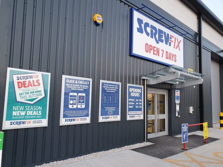 Screwfix opens its fourth store in Derby – Parcel Terrace