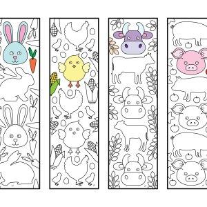 CuteFarmAnimalsBookmarks PIC