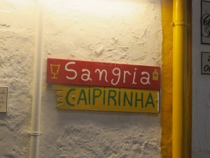 The ubiquitous caipirinha - Brazil's national drink has come to Albufeira.
