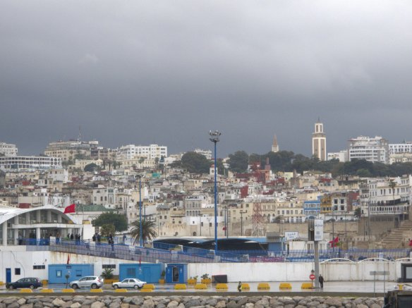 Tangiers, port, Morocco