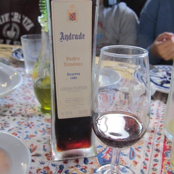 Andrade, Bodegas Andrade, Condado de Huelva, Bollullos de la Mitacion