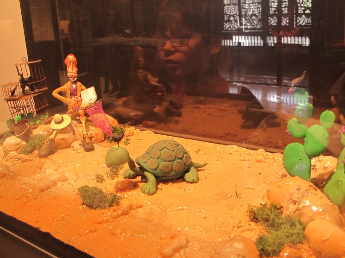 Darwin and his Galapagos tortoises.