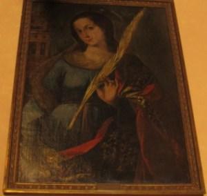 Santa Rufina, sister of Santa Justa.