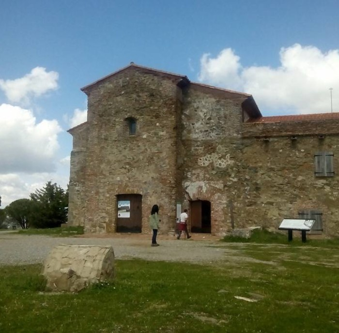 The Monasterio de Tentudia in Badajoz province.