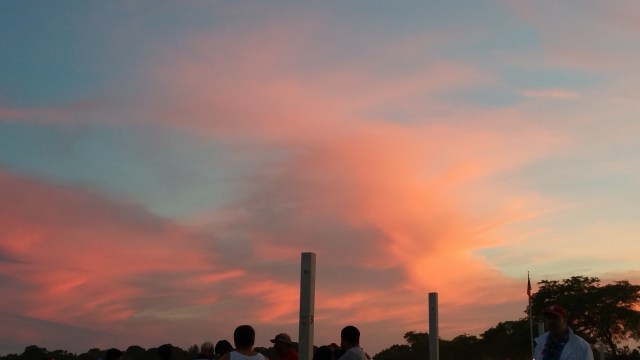 Pretty Sunset for Fireworks