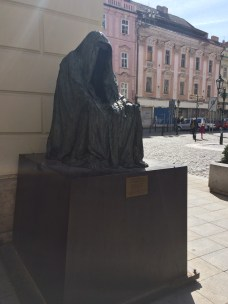 Don Giovanni statue outside the Estates Theatre