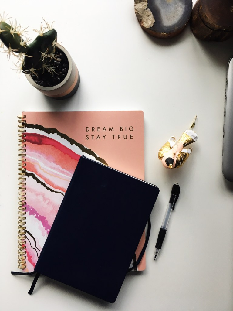 Notebooks for goal planning
