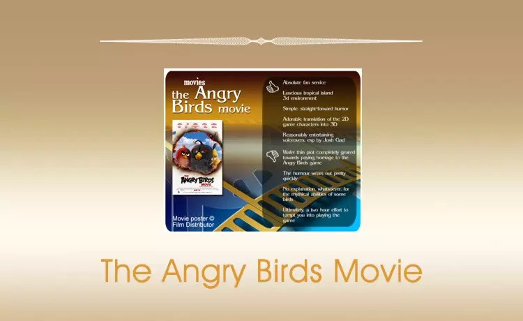 Movie Review: The Angry Birds Movie