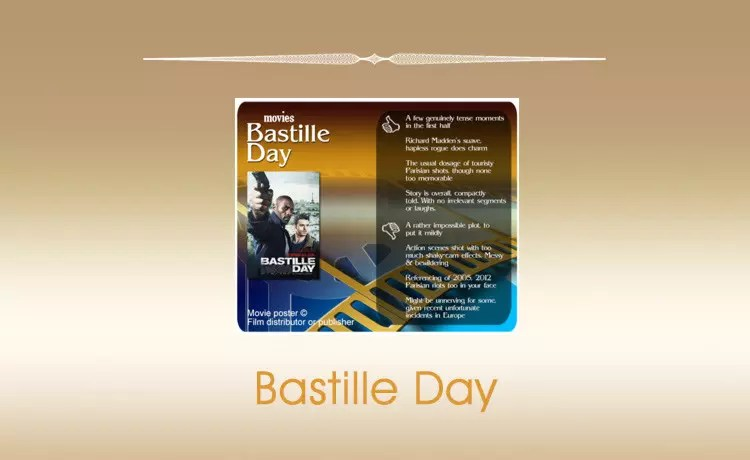 Movie Review: Bastille Day