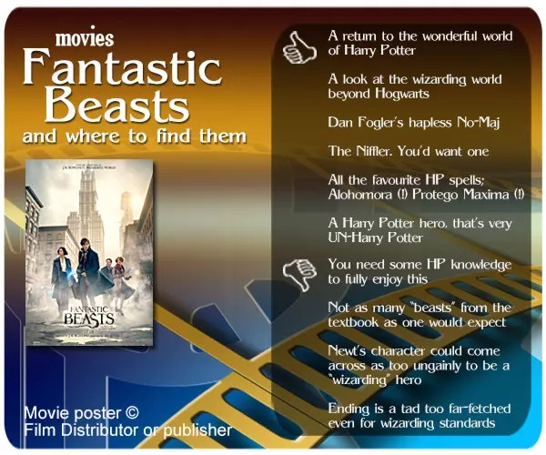 Fantastic Beasts and Where to Find Them introduces a more matured version of the Harry Potter universe. One that still a little too fan obliging at the moment.