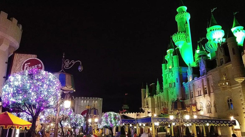 Universal Studios Singapore Christmas Eve.