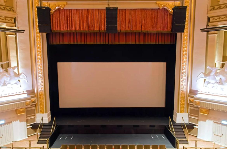Capitol Theatre Stage.
