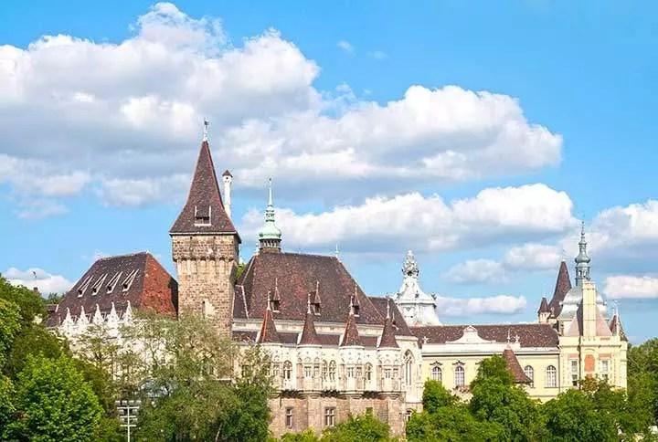 Vajdahunyad Castle of Budapest.