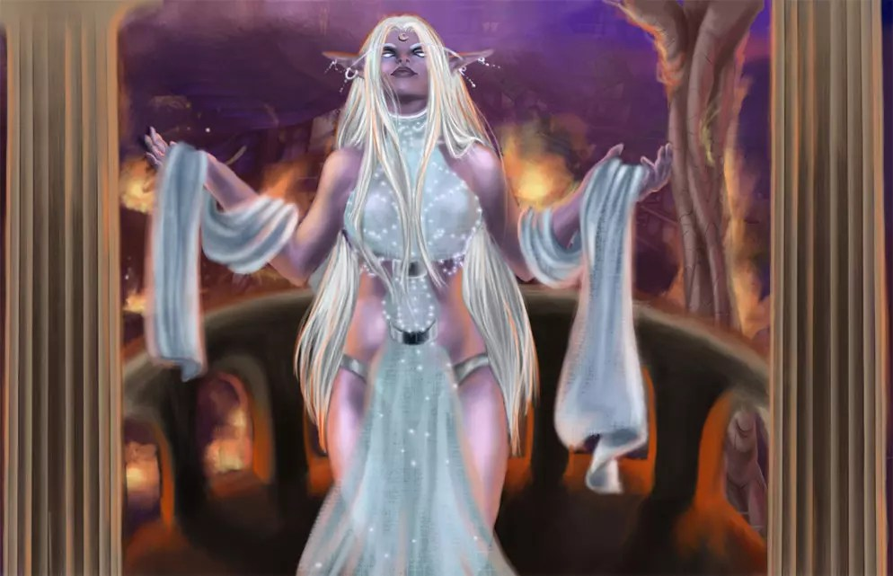 Queen_Azshara by wibeke.