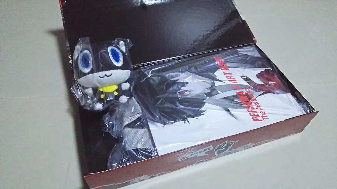 Persona 5 Take Your Heart Premium Edition Contents. I look forward to getting acquainted with Morgana!