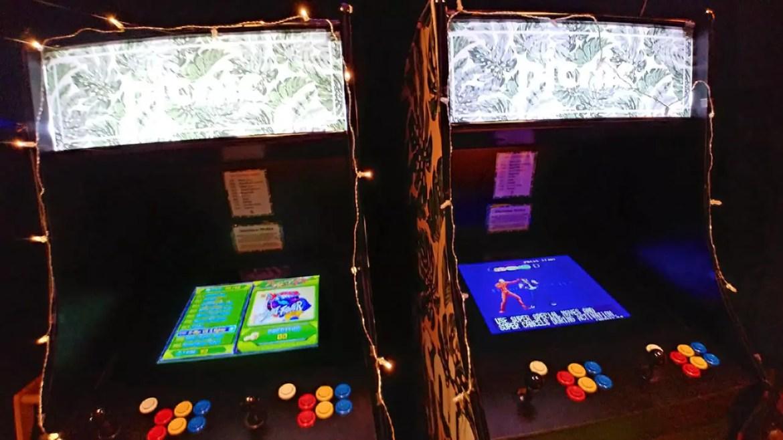 Retro gaming machines