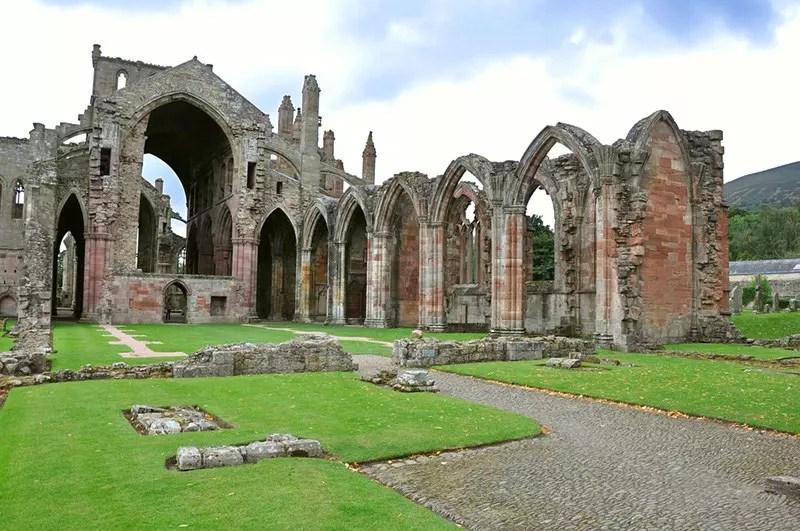 Melrose Abbey, Melrose Abbey