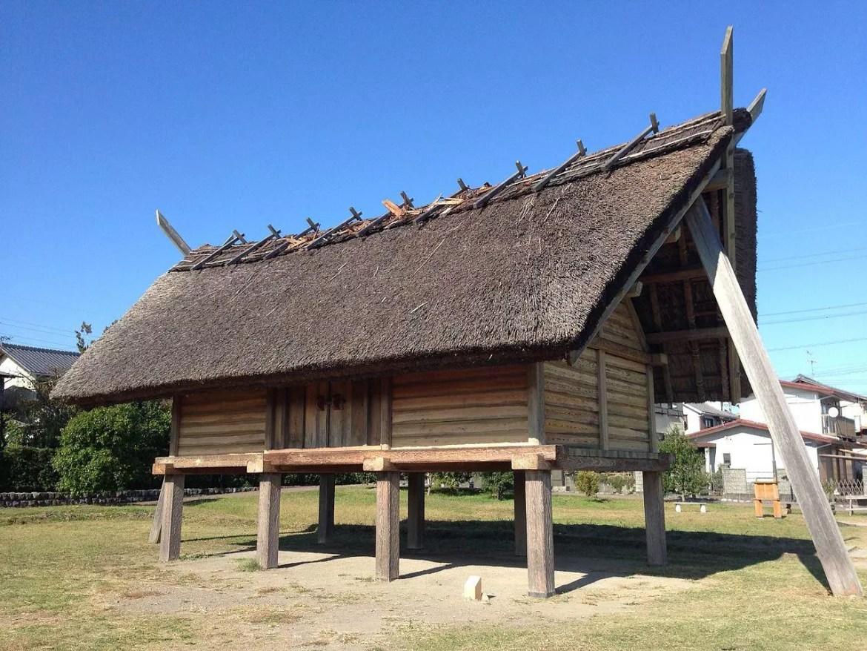 Yayoi Period Worship Hall.