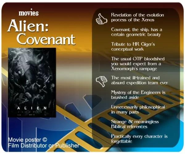 Alien: Covenant movie review.