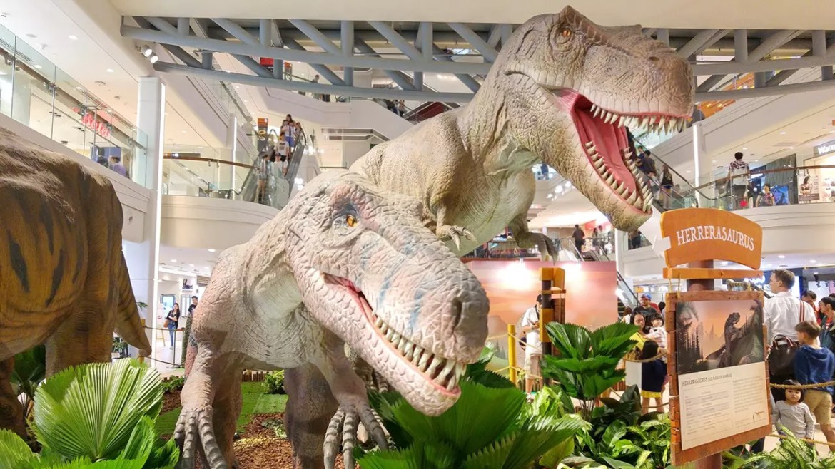 RAWR! Dinosaurs Unearthed. Dinosaurs come to Plaza Singapura for the June School Holidays!