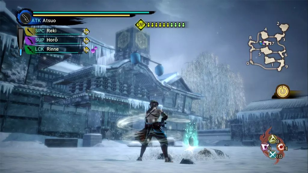 Toukiden Kiwami PlayStation 4 Age of Chaos Gameplay.