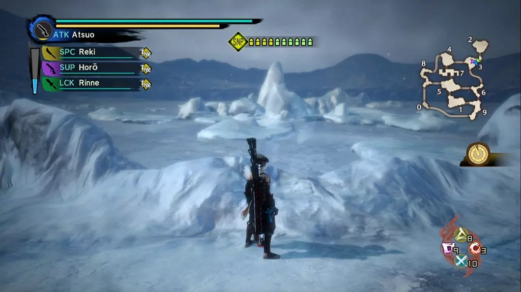 Toukiden Kiwami PS4 Drifting Ice.