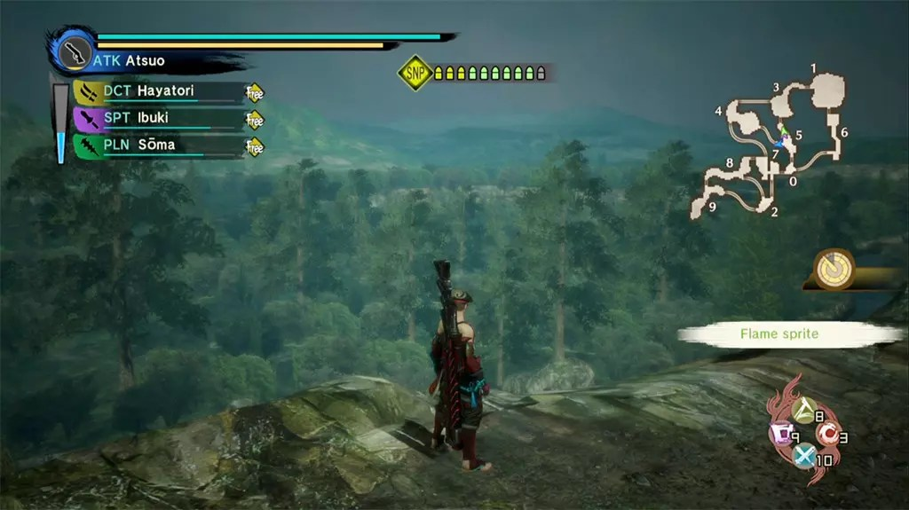 Let's travel historical Japan with Toukiden Kiwami!- The Age of Honor Scenery.