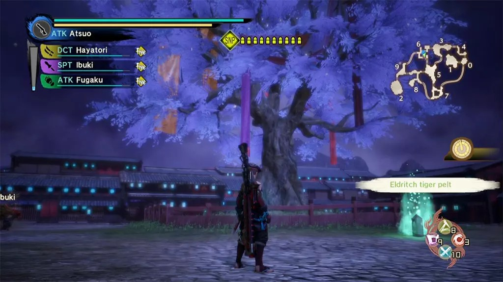 Toukiden Kiwami PlayStation 4 Screenshot.
