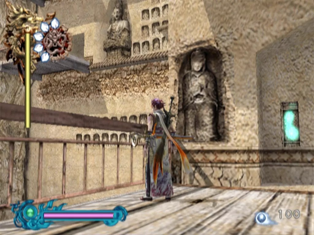 Bujingai: The Forsaken City Stage 3 Screenshot.
