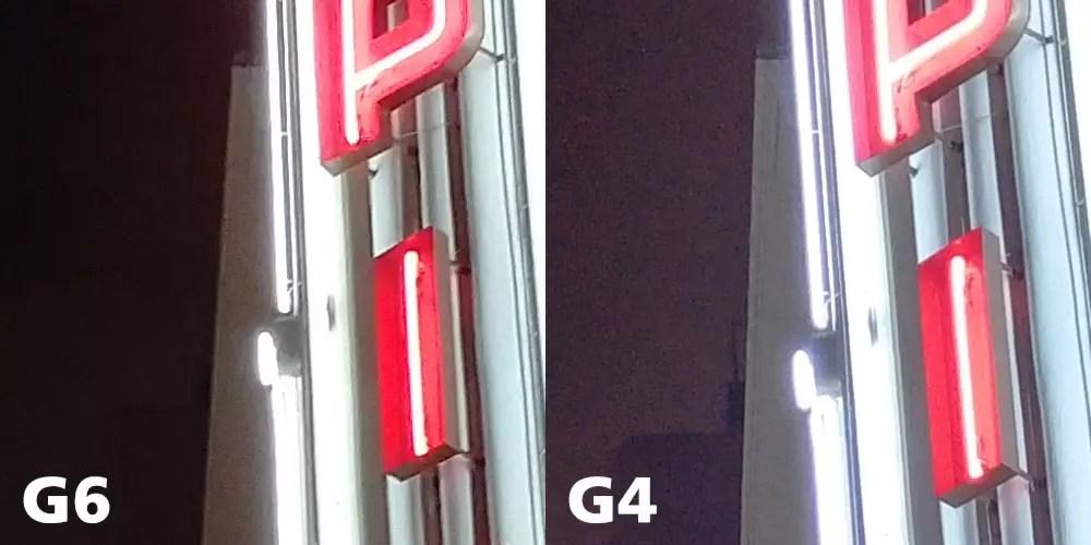 LG G6 vs LG G4 Camera Test