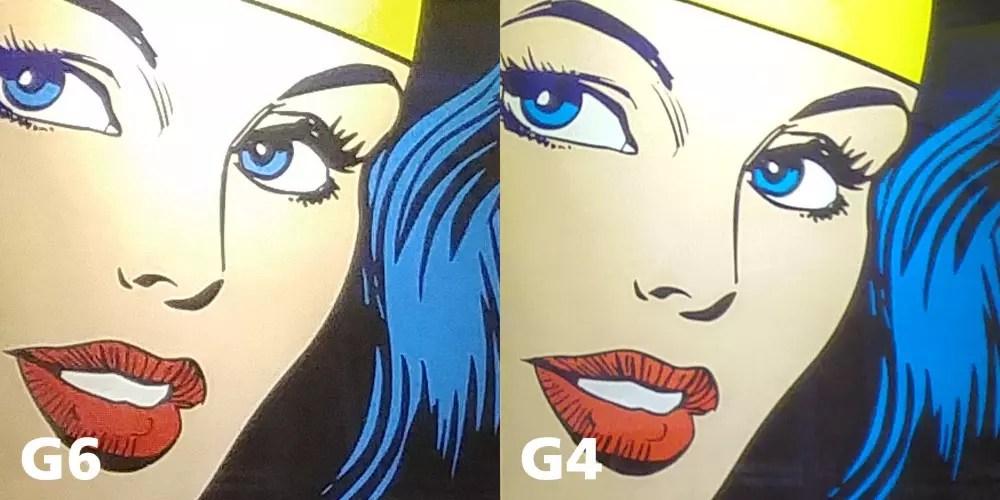 LG G6 vs LG G4 Camera zoom-in comparison, featuring ... #WonderWoman!