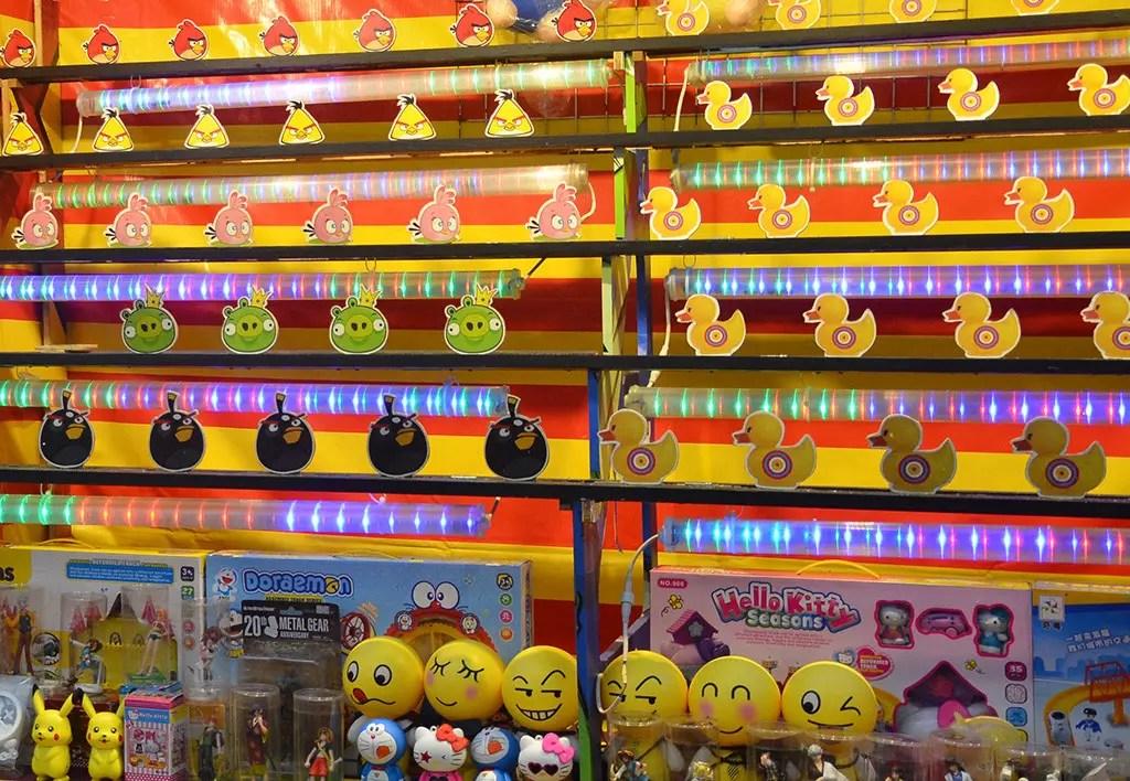 Carnival games at Geylang Serai Bazaar 2017