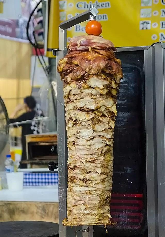Pulled meat at Geylang Serai Bazaar 2017