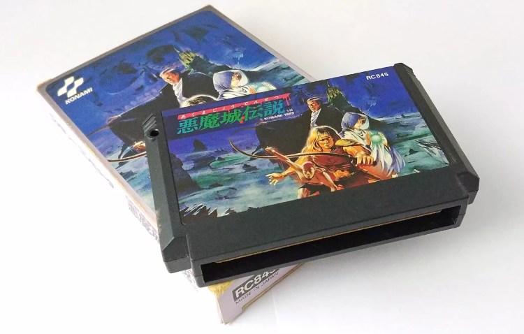 Replaying retro Castlevania games.