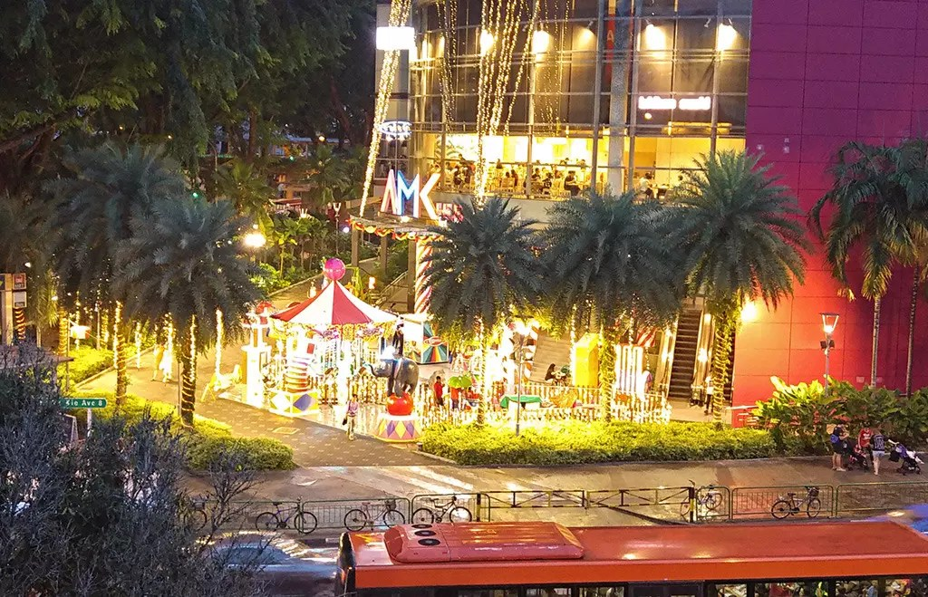 Ang Mo Kio Hub Christmas 2017 Decorations.