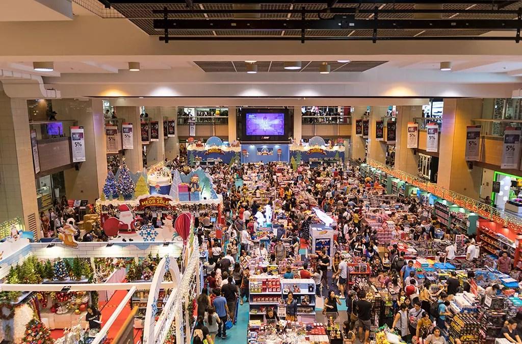 Ngee Ann City Christmas Toy Fair.