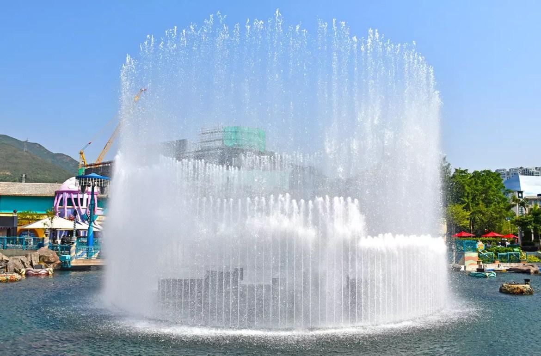 Ocean Park Hong Kong - Aqua City Lagoon