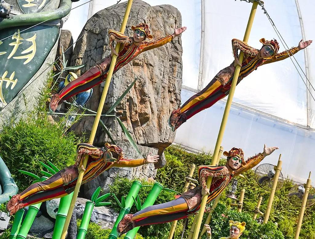 Ocean Park Hong Kong - Bamboo Jam Performance